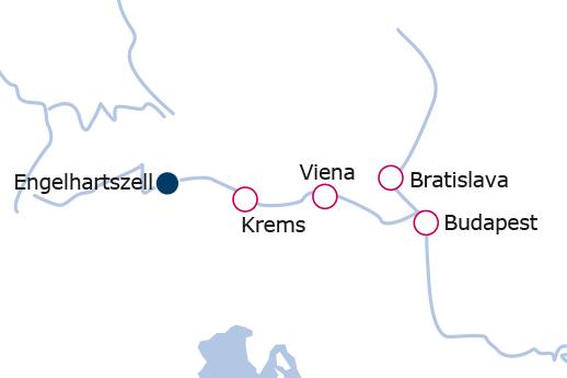 Itinerario de Danubio Clásico