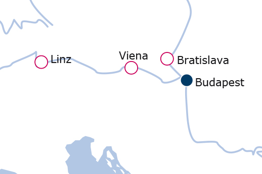 Itinerario de Danubio Azul