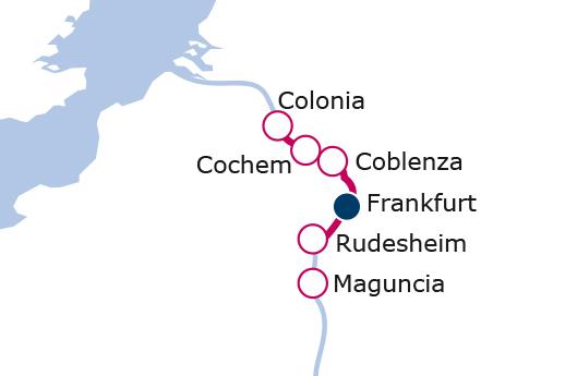 Itinerario de Fin de año en el Rin con Vuelos Incluidos