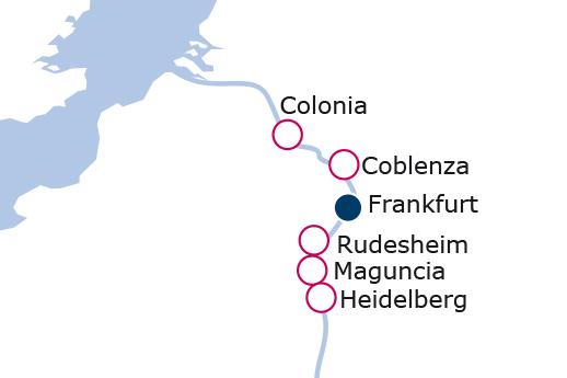 Itinerario de Mercadillos Navideños Rin Puente de diciembre