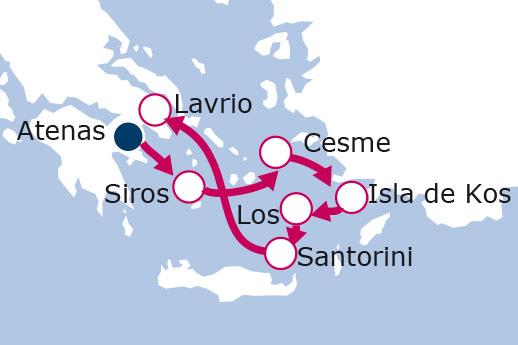 Itinerario de Grecia, Turquía