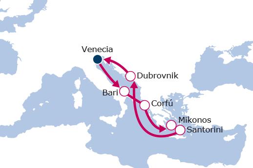 Itinerario de Islas Griegas II