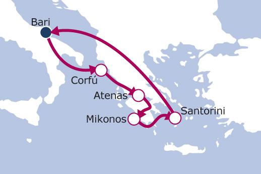 Itinerario de Islas Griegas III