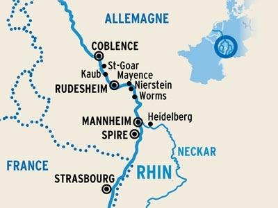 Itinerario de El Rhin romántico