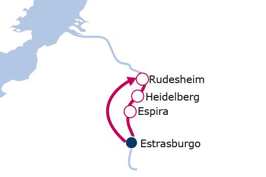 Itinerario de Rhin Romántico Semana Santa