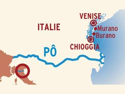 Itinerario de Venecia y su Laguna