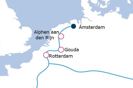 Itinerario de Holanda auténtica