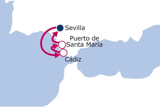 Itinerario de Año nuevo en el Guadalquivir y la Bahía de Cádiz