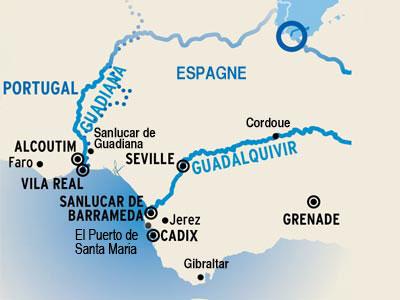Itinerario de Andalucía al completo TODO INCLUIDO