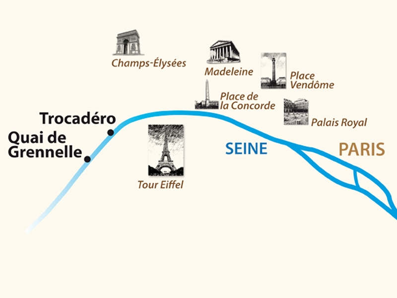 Itinerario de Escapada Parisina (Excursiones incluidas)