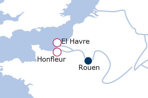 Itinerario de Mercados de Navidad en Normandía