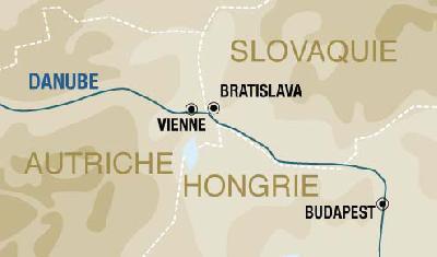 Itinerario de Crucero por el Danubio Sem. Santa desde Barcelona
