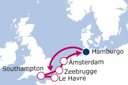 Itinerario de París, Londres, Brujas y Amsterdam