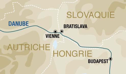Itinerario de Crucero por el Danubio Fin de año desde Barcelona