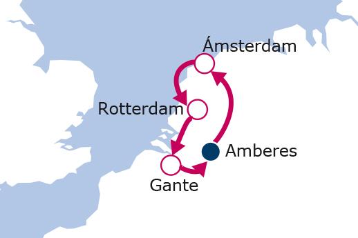 Itinerario de Mercadillos Navideños Países Bajos Pte diciembre