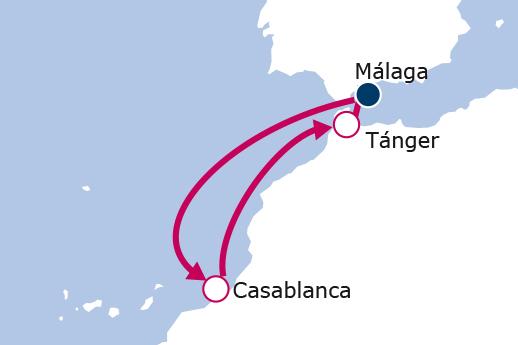 Itinerario de Escapada a Marruecos Puente de Mayo