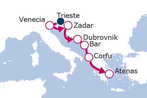 Itinerario de Rondó Veneciano II
