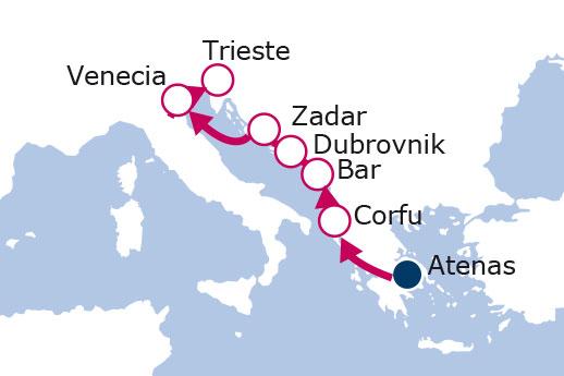 Itinerario de Rondó Veneciano
