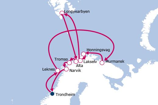 Itinerario de Expedición al Círculo Polar