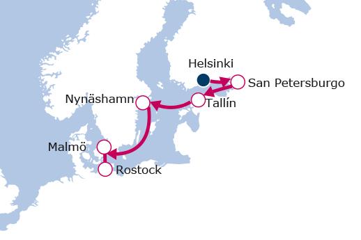 Itinerario de Capitales Bálticas II