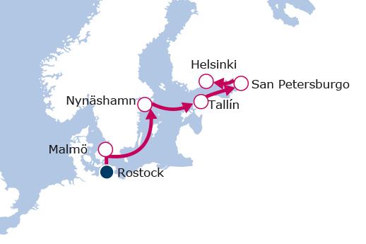Itinerario de Capitales Bálticas