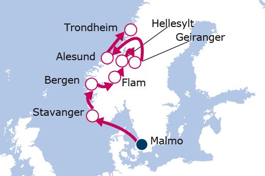 cruceros fiordos noruegos 2019