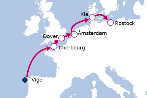 Itinerario de Del Sur al Norte Europeo II