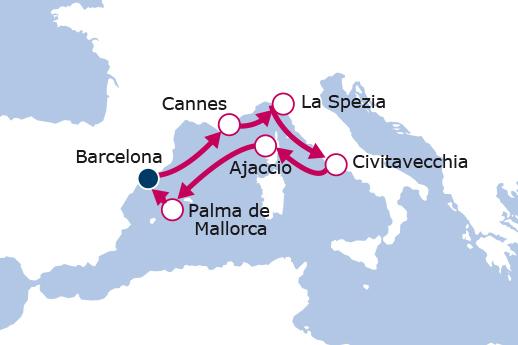 Itinerario de España, Francia e Italia
