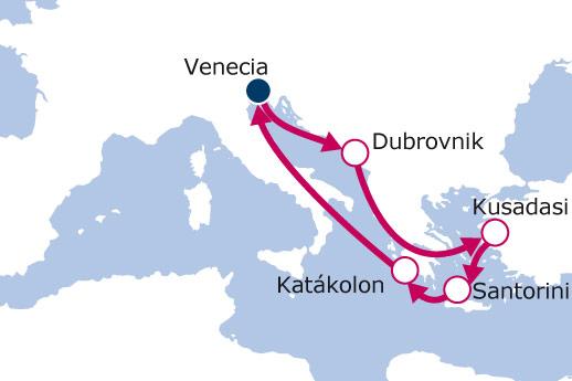 Itinerario de Italia, Croacia, Turquía, Grecia con Vuelos