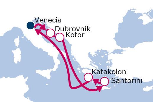 Itinerario de Recorriendo el pasado con vuelos