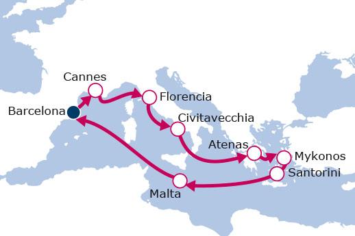 Itinerario de Rumbo a la cuna de la civilización IV