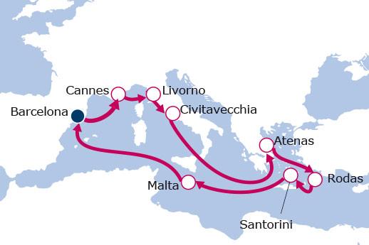 Itinerario de Rumbo a la cuna de la civilización V