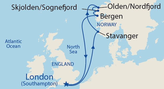 Itinerario de Europe - North Cape